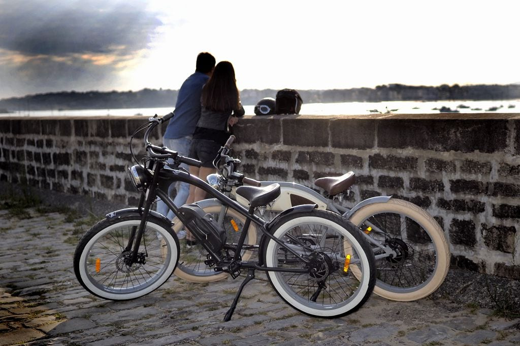 REtro Ebike rental activities at Rockley Park