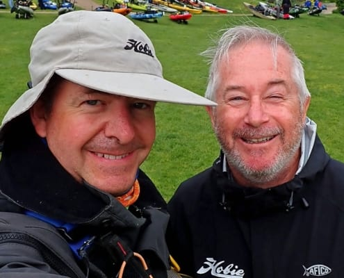 Dave and Ian Hobie Fishing Team