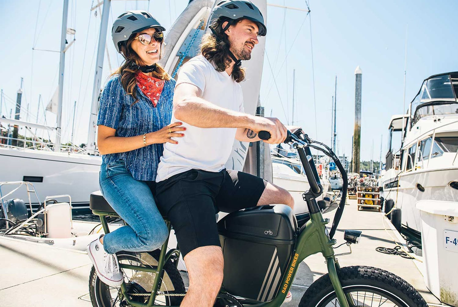 ebike rental activities at Rockley Park